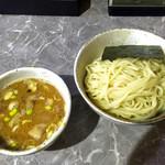 51013828 - 『製麺rabo』                       「つけ麺(濃厚魚出汁)」