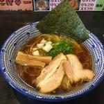 麺 昌まさ - 煮干し中華そば(700円)