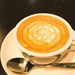 Cafe de 武 - くろみつラテ