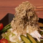 和菜 やなぎ  ふぐ はも - 長芋とろろ昆布サラダ
