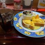 Kafeberi - モーニングセット510円(税込)