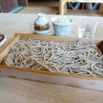 そば切り源四郎 - 料理写真:板そば(並)