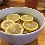 SOBA笑 - レモン蕎麦