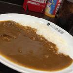 カレーハウスCoCo壱番屋 - ハーフビーフカレー390円 ドリンク付き (-_^)¥