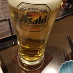 おでんBAR - 生ビール