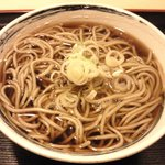 水内庵 - セットの「かけそば」(2010.9)