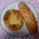 粉ひきの ゴーシュ - ツナポテトとミルクフランス