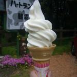 ハートランド朝霧 - ソフトクリーム