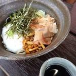 そばきり祥香 - 料理写真:わさび菜とろろ蕎麦 冷 1700円