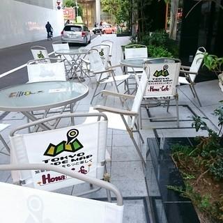 Hona Cafe 新宿シネシティ広場店 - テラス席
