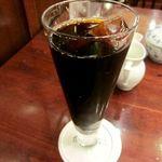 椿屋珈琲店 - :椿屋特製アイスコーヒー 1050円