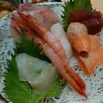 福福茶屋 - 「お造り定食 竹」アップ