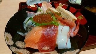 福福茶屋 - 「お初の海鮮ちらし寿司」アップ