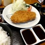 咲咲亭 - ロースかつ定食120g 980円