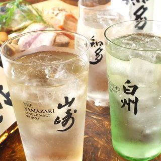 ◆季節に合わせたオリジナルドリンクや国産ウイスキーも充実♪