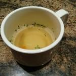 モクオラ ディキシーダイナー - スープ…もうちょっと欲しいなぁ~(^^;)))