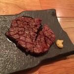 51032552 - 肉の炉ばた焼き                       料理長おすすめ本日の厳選5種