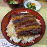 川淀 - 丼定食 特上 2700円