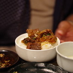 韓国家庭料理 青山 - 牛スジはコレが一番美味い