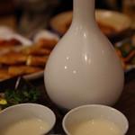 韓国家庭料理 青山 - 生マッコリうまし