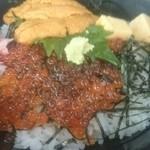 漁師料理 かなや - ウニイクラ丼