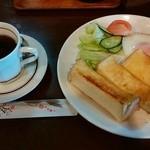 ドム - 料理写真:「モーニングセット」550円