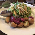アンシャンテ - 鴨のコンフィとジャガイモのサラダ