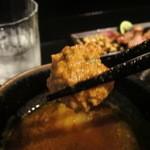 鴨蕎麦 尖 - 鴨団子(生姜が効いてます♪)