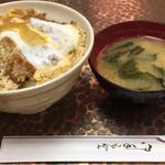 ひら井 - カツ丼 ¥750-