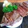 三牛志 藍屋 - 料理写真:三田牛のステーキです♪