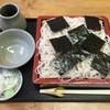 甘味茶屋 甘千院 - 料理写真:更科天ざる蕎麦、1100円です。