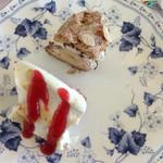 キャナリィ・ロウ - チーズケーキとバナナシュー