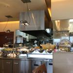 キャナリィ・ロウ - 綺麗なオープンキッチン。