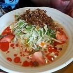中華キッチン れんげ - 冷しサラダ坦々麺