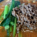 中華キッチン れんげ - 坦々麺のスープ