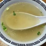 飩餃 - スープがセットで付きます。