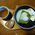 51044802 - お友達は、松江藩七代藩主である松平不昧の名がついた「不昧公 650円」。