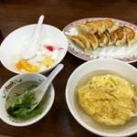餃子の王将 - 料理写真:レディースセット(700円)(2016.05現在)