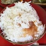 農家料理 高宮 - 一汁五菜 おこげ入りご飯