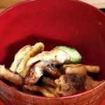 農家料理 高宮 - 一汁五菜 油揚焼・きゅうり酢味噌和え