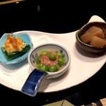 創作料理と天ぷら 秋月 - 本日の小鉢
