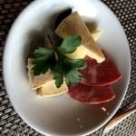 ガーデンテラス長崎ホテル&リゾート - チーズにハム