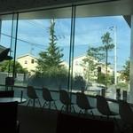ホキ美術館 ミュージアムカフェ - カフェからの眺め