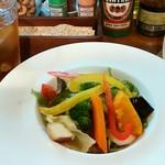 チャイニーズレストラン ファン - 料理写真:ランチの前菜「