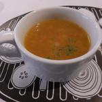 Cafe&BarbecueDiner パブリエ - ランチ付属のスープ