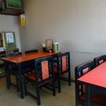 蘭風 - 「蘭風」テーブル席