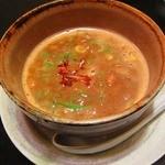 花紋 - 濃厚つけ麺にぼとんのつけ汁