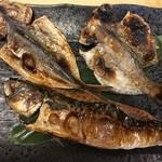 食事処 熱海 祇園 - 干物三品定食