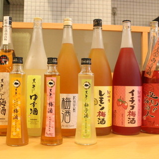 【梅酒の宝庫】