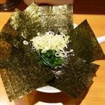 51057659 - 海苔ラーメン750円麺硬め。